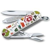 Нож Victorinox Classic SD Nature Adventure 0.6223.L1505
