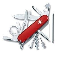Фото Нож Victorinox Swiss Army Explorer красный 1.6705