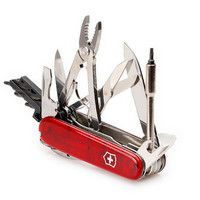Фото Нож Victorinox CyberTool 34 Red Trans 1.7725.T